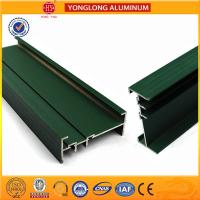 China RAL Colour Powder Coated Aluminium Extrusions Highly Glossy / Matte wholesale