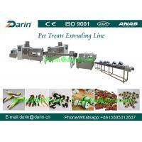 China Fully stainless steel Twist Dog Food Extruder Machine , pet extrusion machine wholesale