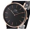 Buy cheap New DANIEL WELLINGTON Mens Watch Classic Black Cornwall Nylon DW00100148 from wholesalers