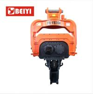 China Construction equipment excavator mounted pile machine hydraulic vibro hammer wholesale