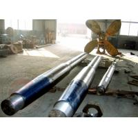 Quality High Lift Alloy Steel Marine Rudder Tail Shaft Forging 25MN - 80MN Hydraulic Press for sale