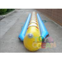 China Commercial Grade Single Tubes Flyfish Inflatable Banana Boat Sport For Fun wholesale