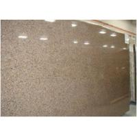 China Custom Tropical Brown Granite Floor And Wall Tiles CE Certification on sale