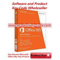 China  Microsoft Office Product Key Codes For Office 365 Home Premium FPP key esd  for sale