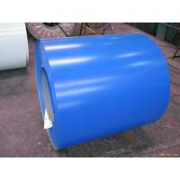 China Blue ASTM A653 PPGI Prepainted Galvanized Steel Coil For Roof 0.15 - 2.0mm Thickness wholesale