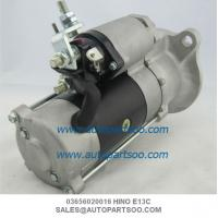 China 28100-2864 28100-2862 HINO 700 E13C Starter Motor 24V 11T 6.0KW on sale
