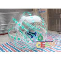 Quality Green Dot Inflatable Sumo Soccer Balls / Bubble Football / Water Zorb Ball With Color for sale