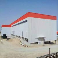 China Hot Sales Prefabricated Steel Structure Building With High Quality & Low Price wholesale