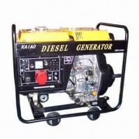 China Diesel Generator Set with 380/220 and 400/230V Advertised Voltage, Independent Overload Protection wholesale