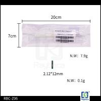 China Microchip Syringe with ICAR certified Glass Tube Electronic RFID Tag  For Horse Chip Size 2.12*12mm on sale