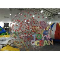 Quality Customized 1.00mm PVC Inflatable Human Zorb Ball For Outdoor Sport Game for sale