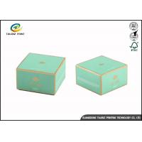 China Custom Fashion Kraft Paper Cosmetic Packaging Boxes Recycled Square Shape wholesale