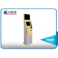 China Dual Display Bank Atm Machine With Stand Pc , Stand Alone Outdoor Kiosk wholesale