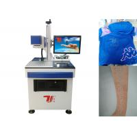 China 10640nm Beam Co2 Laser Marking Machine For Fabric , Clothing Printing wholesale