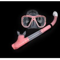 Buy cheap Diving equipment high quality silicone diving mask set of underwater ventilation from wholesalers