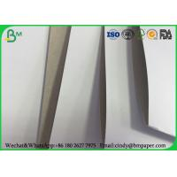 China White Top Clay Coated Paperboard , 230g 250g 300g One Side Coated Paper Board wholesale