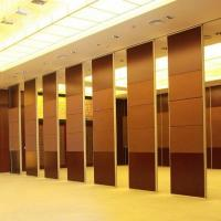 Buy cheap Banquet Hall Decorative Acoustic Material System Folding Partitions Walls from wholesalers