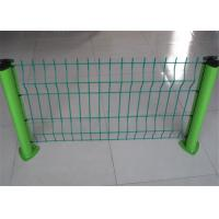 Buy cheap Professional Green Metal Fencing / Weld Mesh Fence Panels ISO SGS Listed from wholesalers