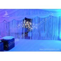 Beautiful Partition Wall Decorated Aluminum Large Outdoor Wedding Tents 20x30M for sale