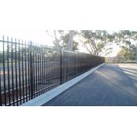 China Tubular Garrison Fence / Australia Security Commerical Garrison Fence Panel / Black Garrison Fence wholesale