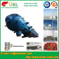 China Petrochemical Industry Solar Boiler Mud Drum With High / Low Pressure wholesale