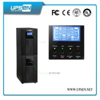 China High Frequency Pure Sine Wave 6-10kva Online Ups For Bank ATM Machine wholesale
