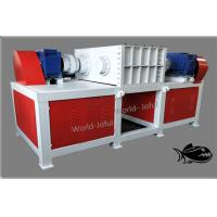 Iron Drum Four Shaft Shredder Higher Torque Rotary Blades With Electrical System