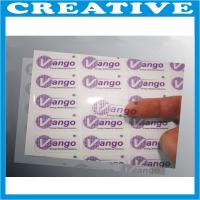 China Cheap window adhesive stickers label wholesale
