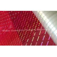 China Transparent Holographic BOPP Biaxially Oriented Polyester Film High Moisture Barrier wholesale
