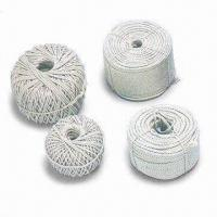 China Cotton Ropes with 1.5 to 24mm Diameter wholesale