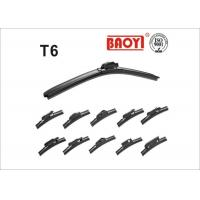 China Excellent Visibility 22 inch Beam Wiper Blades Easily Fit With TPR Spoiler wholesale