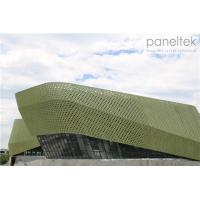 Buy cheap Special Form Glazed Terracotta Facade Panels With Special Design And Special from wholesalers
