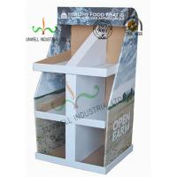 China Food Presentation Cardboard Display Stands , Cardboard Product Display Stands wholesale