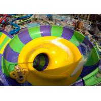 China Indoor Or Outdoor Swimming Pool Water Slides Super Bowl For 2 People on sale