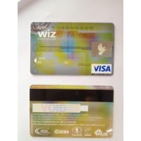 Wholesale Black hico magstripe visa smart gold card of hbl bank card ISO standard from china suppliers