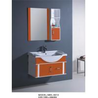 China 100 X48/cm PVC bathroom cabinet/  wall cabinet / hung cabinet / white color for bathroom wholesale