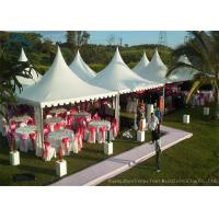 China Easy-Assembly Aluminium Frame Pagoda Tents For Outdoor Wedding Parties With 5m by 5m Size wholesale