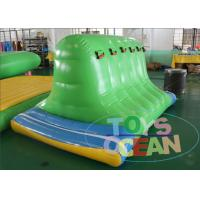 China Summer Water Park Playground Inflatable Cliff Jump 0.9mm PVC Floating Aqua Toys wholesale