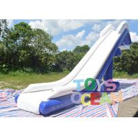 Quality Airtight Giant Inflatable Water Toys Inflatable Floating Yacht Slide For Open for sale