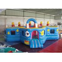 China Lovely Waterproof Inflatable Toddler Playground ,  Kids Bouncy Castle Rental on sale