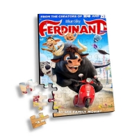 China Lenticular Printing 3d Puzzle With Movie Characters or Flip Jigsaw Children Family Games Educational Toy 3D Jigsaw Puzzl wholesale