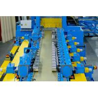 Blue 20 Station Cable Tray Roll Forming Machine 1.8-4.2mm Thickness