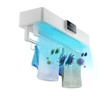 China Efficient Hot Air Drying Smart Intelligent Timing Towel Rack UV Cycle Disinfection wholesale