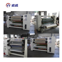 China YUYU Super Clear Crystal Packing Tape Slitter Rewinder Machine wholesale