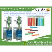 China Bestar packaging machine manufacturing Ice pop filling and packaging,ice lollipop sachet packing machine wholesale