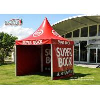 China 5×5m White Red Garden Canopy Tent with Various Colours and Windows for Party wholesale