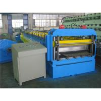 Buy cheap Automatically Silo Metal Roll Forming Machine by Gear with Hydraulic Cutting System from wholesalers