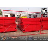 """8ft Temporary Construction Fencing with 1"""" square tube frame and high visible"""