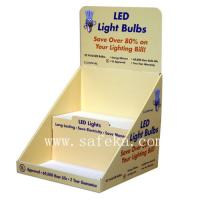 China Simple Cardboard Cardboard Display Box with Two Tiers for LED Light Bulbs wholesale
