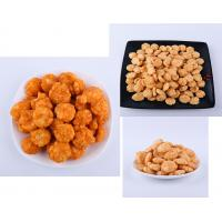 China Delicious Cheese / BBQ Flavor Crispy Rice Cracker Mix With Advanced Fried Technology wholesale